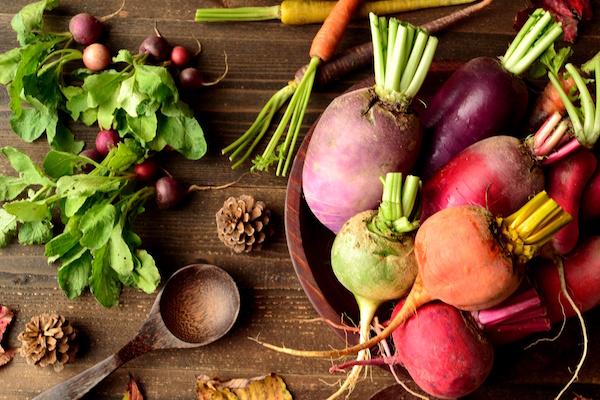 抗酸化成分の多い野菜