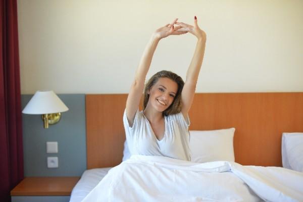 睡眠の質を良くすることは血圧の安定につながる。